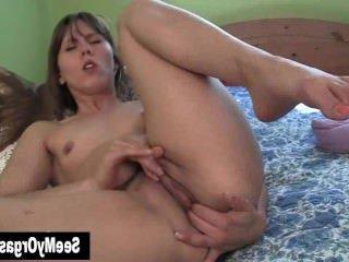 Голые Девки Порно Сексуальный Amber Мастурбировать видео