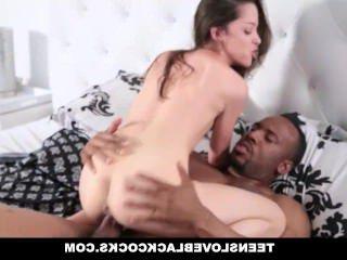 Голые Девки Порно Teensloveblackcockss-милый девка соблазняет Би-би-си видео