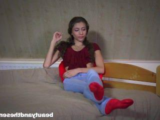 Голые Девки Порно Сладкий девка бунтарь Линн получает пригвожден старый Оливье видео