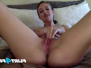 Голые Девки Порно Киска джетт Янссен снимает с розовым инструментом удовольствия видео