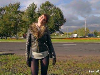 Голые Девки Порно Jeny Smith черные колготки притворяются леггинсы видео