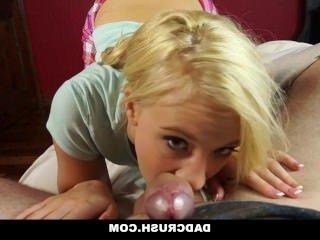 Голые Девки Порно DadCrush-горячая падчерица любопытно шаг папа петух видео