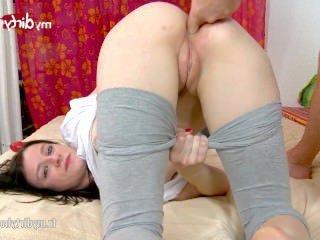 Голые Девки Порно Мое грязное хобби-симпатичная брюнетка трахал видео