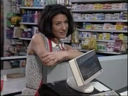 Ретро Порно Две Брюнетки ебут в супер рынке ! видео