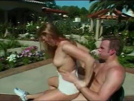 Ретро Порно Винтаж у бассейна чертов сцена видео