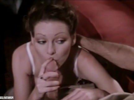 Ретро Порно Порнозвезда Легенда Аннет Хейвен дает хороший Минет видео