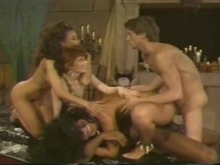 Ретро Порно Вуду и Групповой секс действий видео