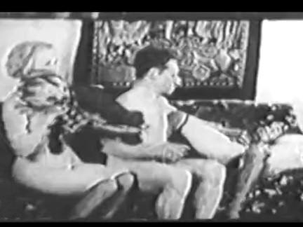 Ретро Порно Горячий тройка винтажный чертов видео