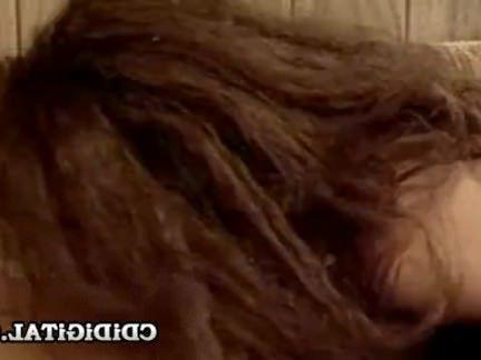 Ретро Порно Негр-звезда 80-х Уитни Коул получает межрасовый секс видео
